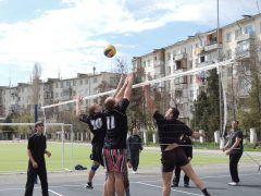 волейбол на улице