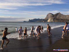 купание на крещение в Крыму