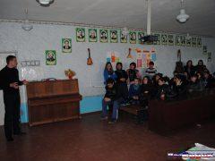 Илья Прокопьев, встреча со школьниками
