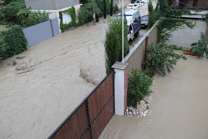 наводнение, Судак, потоп