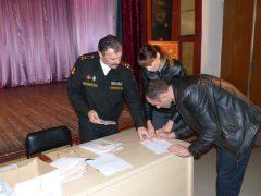 Вручение военных билетов