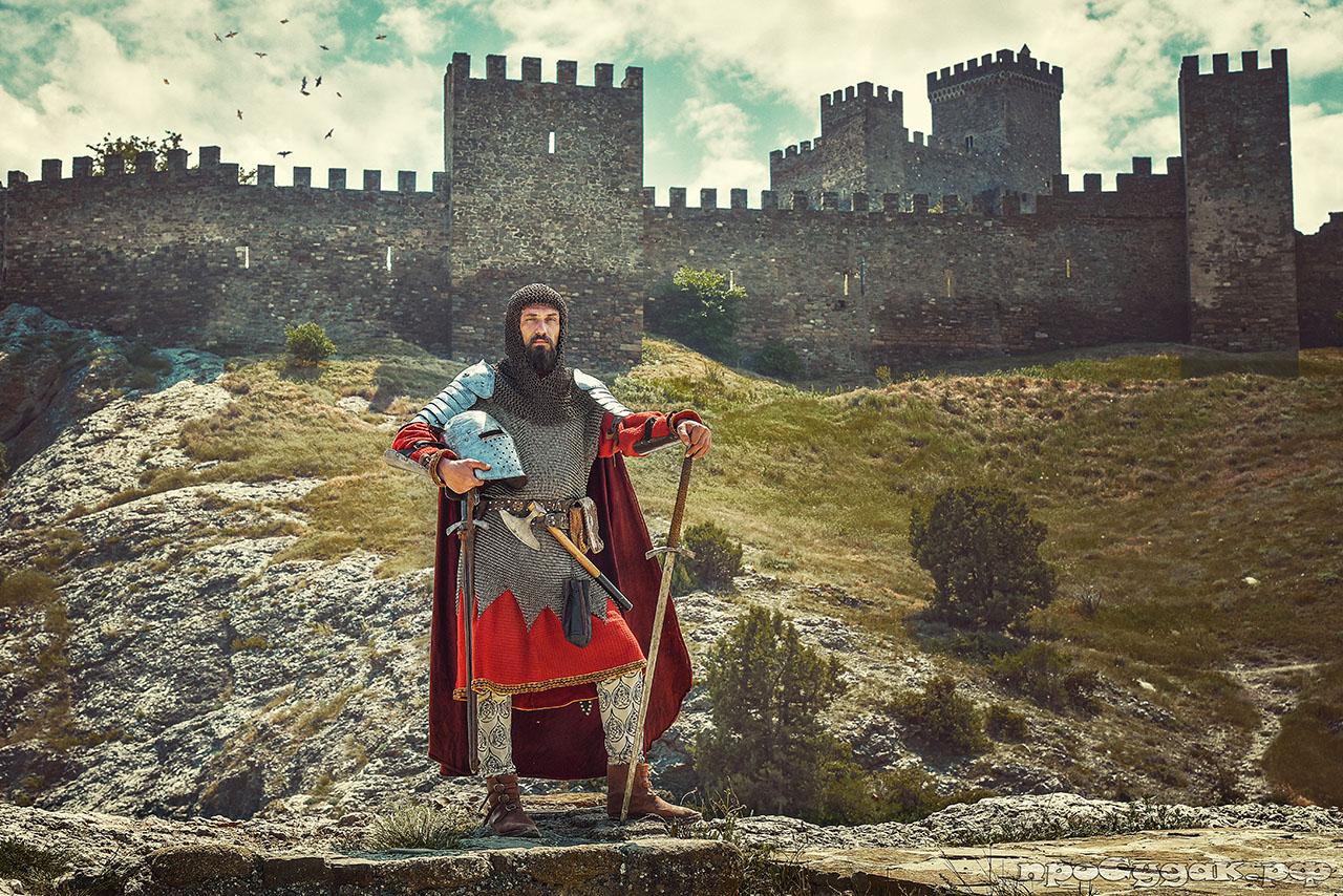 рыцарь, Генуэзский шлем