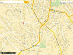 ДОСААФ, автошкола на карте