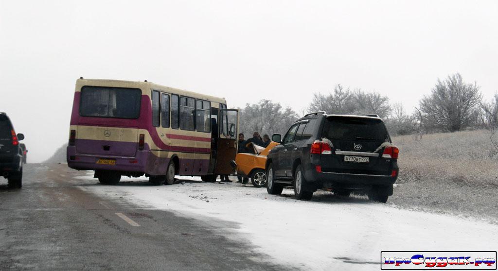 авария автобус