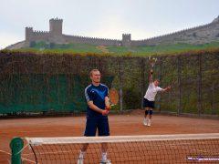 Большой теннис в Судаке