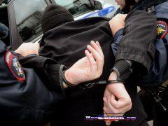 Полиция России, задержание преступника, без лиц