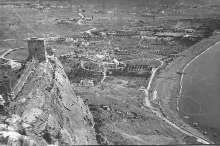 Генуэзская крепость в годы войны