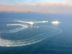 Обстрел кораблей Украины в Азовском море