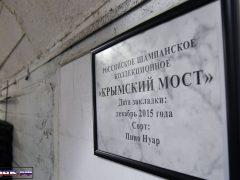 шампанское Крымский мост