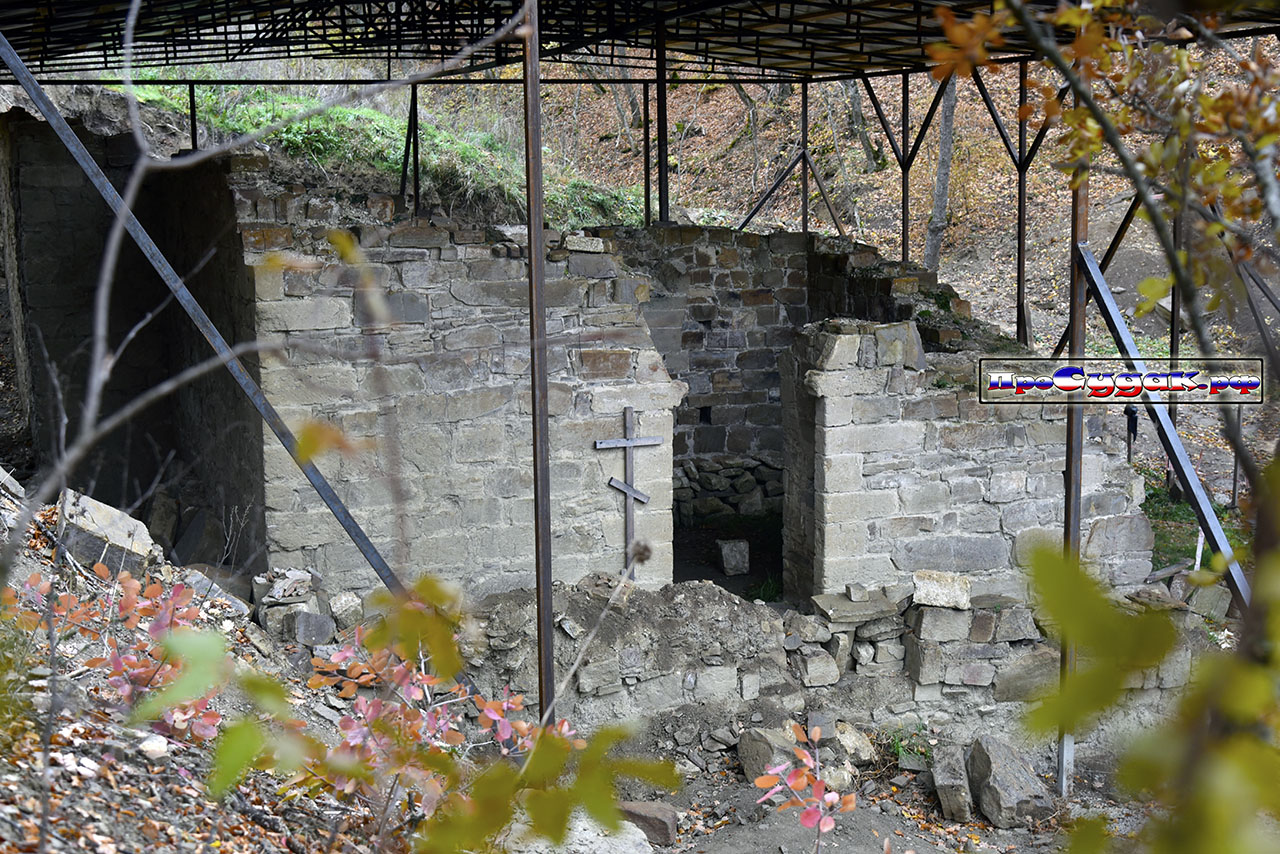 Средневековый Храм, Килиса-Кая Судак