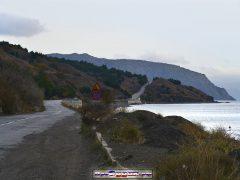 дорога Судак-Алушта