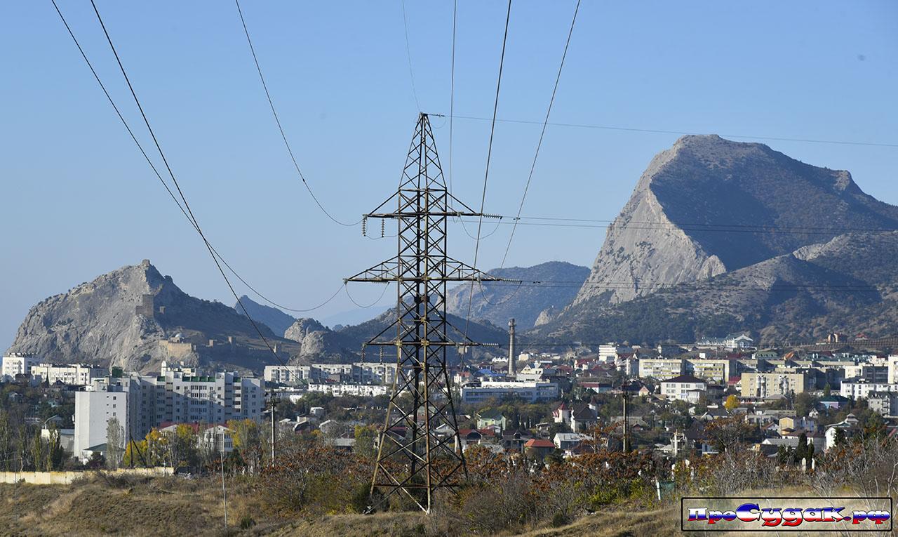 Электроэнергия в Судаке