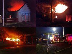 пожар в Грушевке