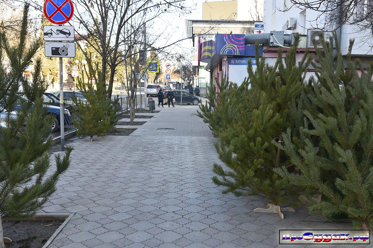 Улица Гагарина Судак