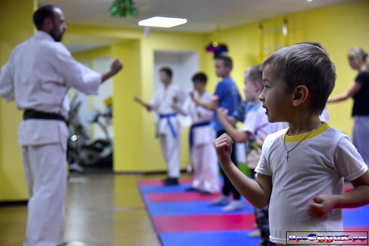 детский спорт в Судаке
