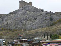 подкоп крепости в Судаке