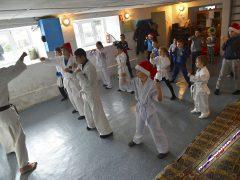 каратисты в селе Весёлое