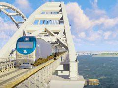 Железная дорога, Крымский мост