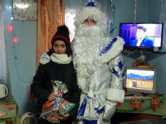 Дед Мороз и ребёнок