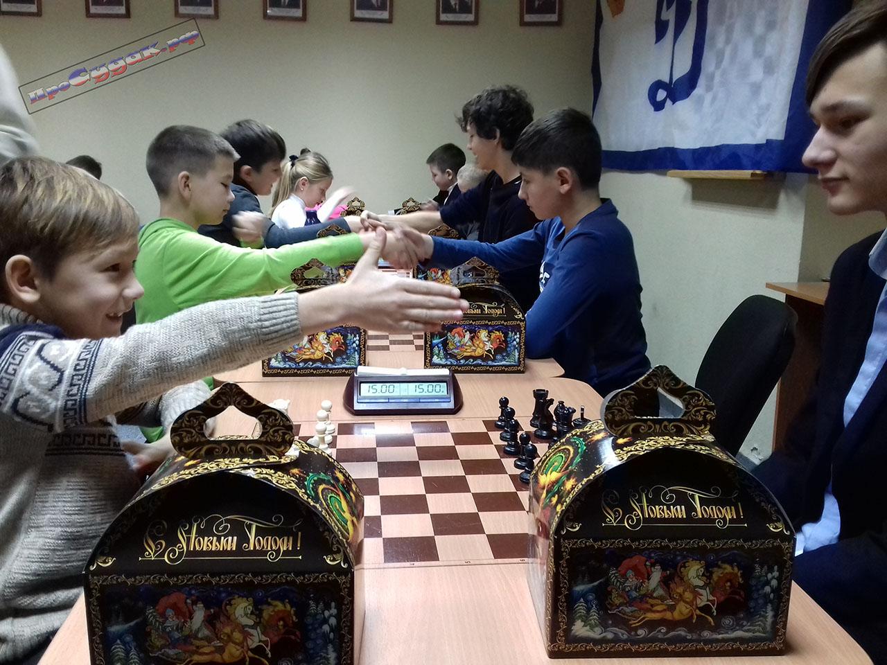 товарищеский шахматный турнир
