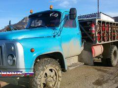 авто газ Крым, ЗИЛ оборудованный для перевозки ГАЗа