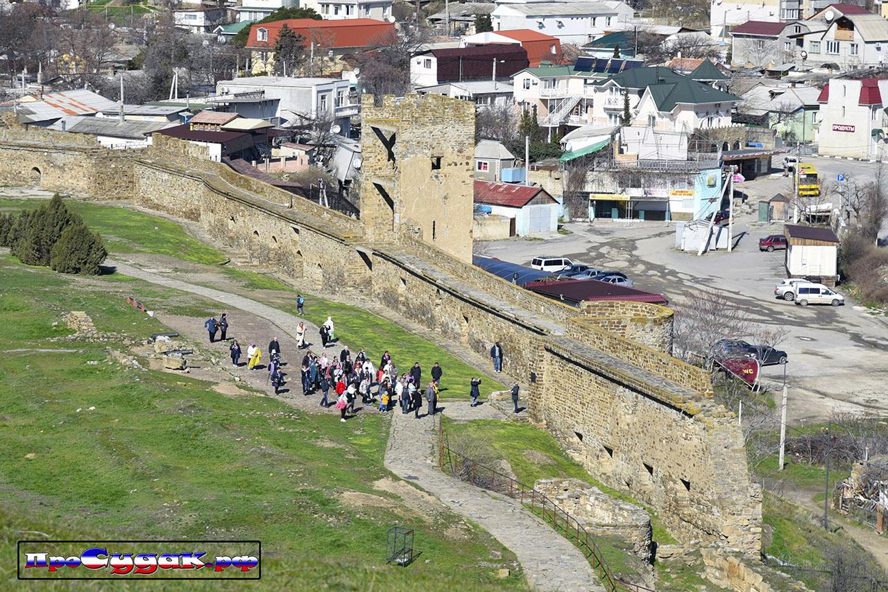 экскурсия Судакская крепость