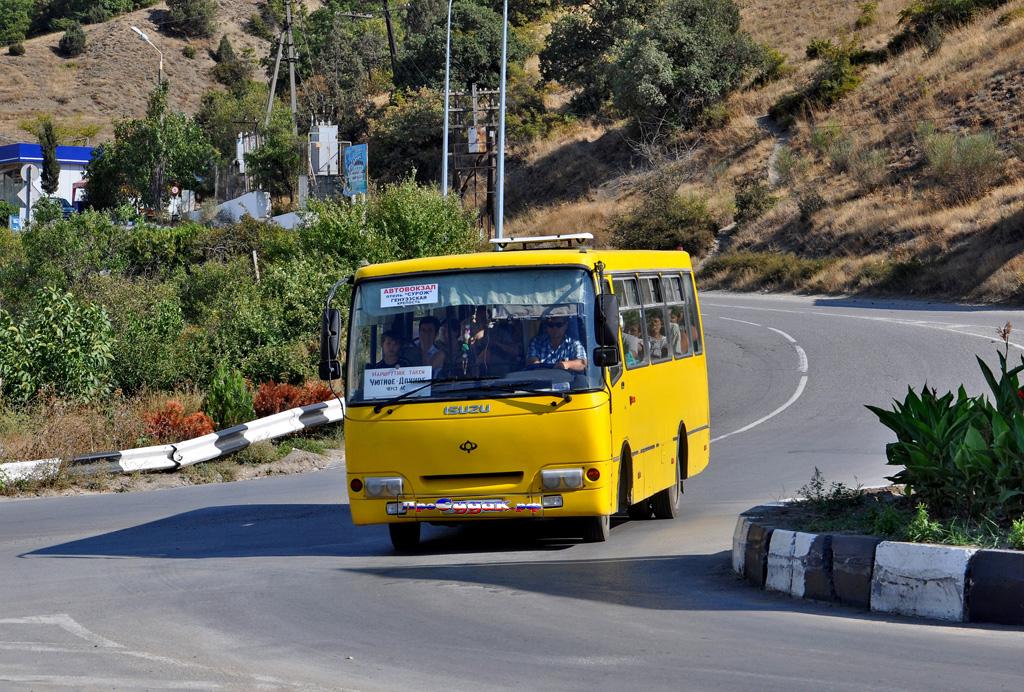 автобус Судак, Судакская маршрутка, Богдан