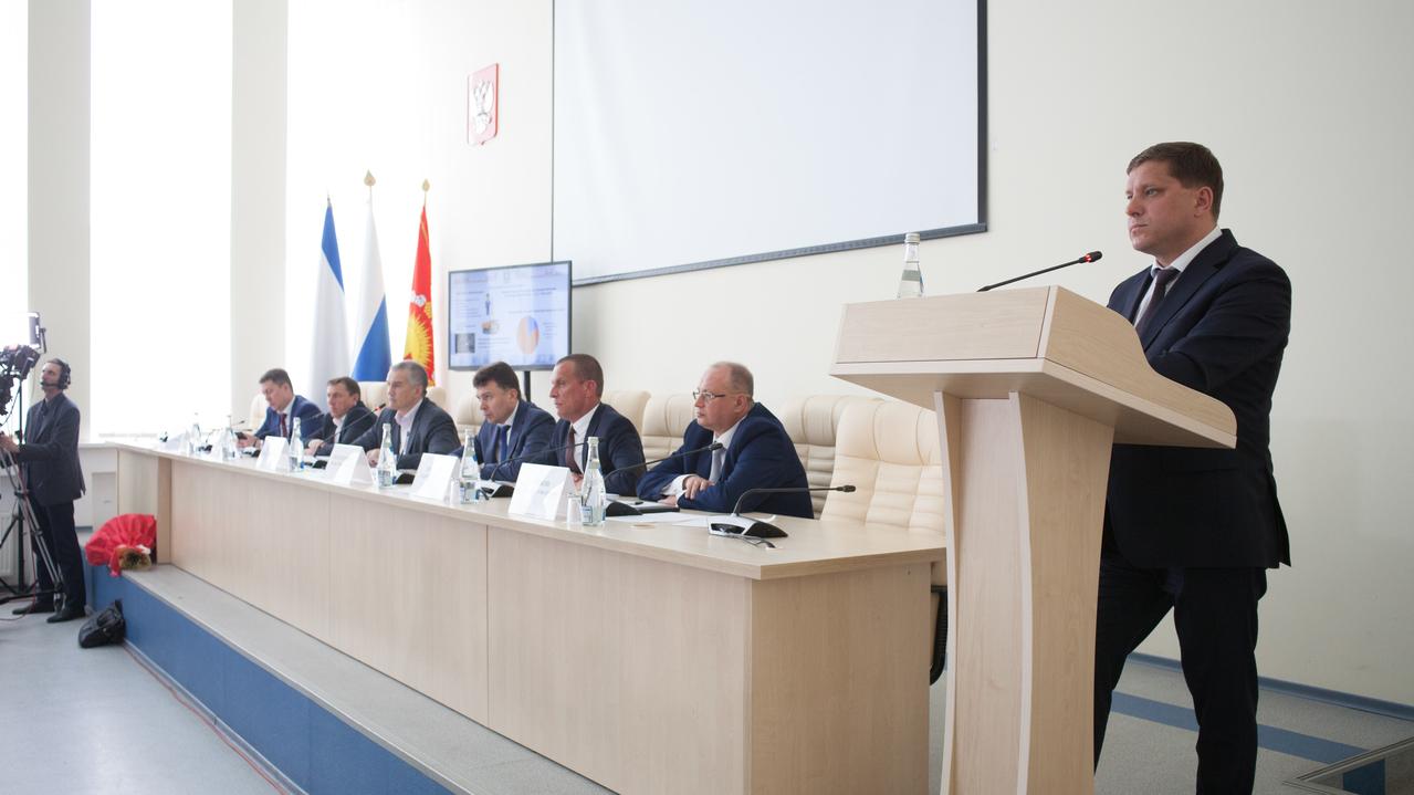 Дмитрий Черняев, министр жилищно-коммунального хозяйства РК