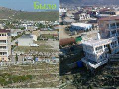 Снос незаконного строения в Судаке