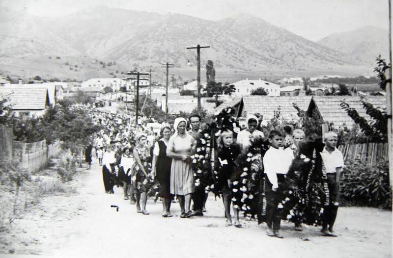 похороны в селе Весёлое