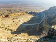 «Старокрымский» карьер у горы Агармыш