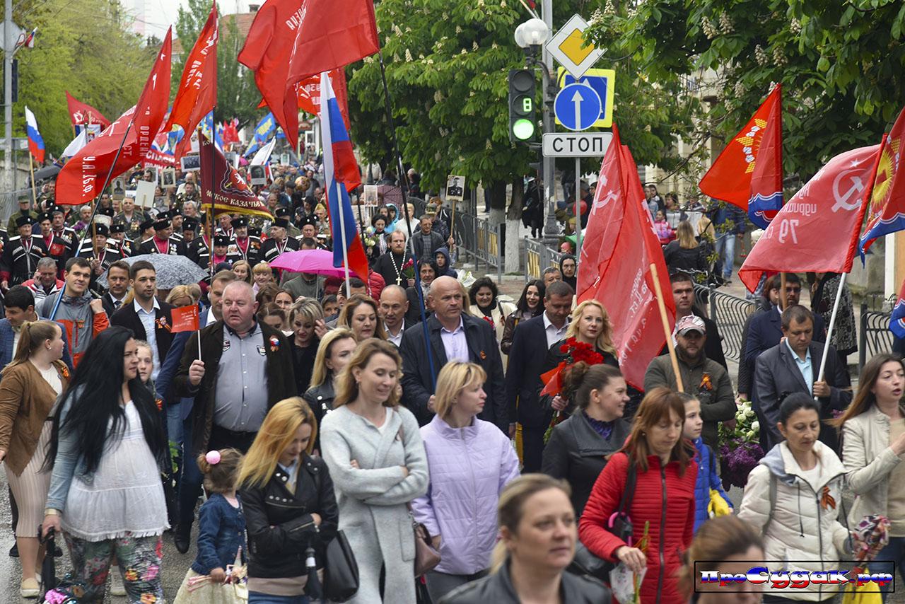 Парад Победы в Крыму - 2019