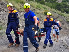 спасатели в Судаке