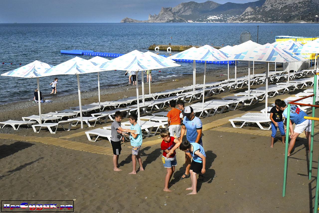 тренировка на пляже Судака