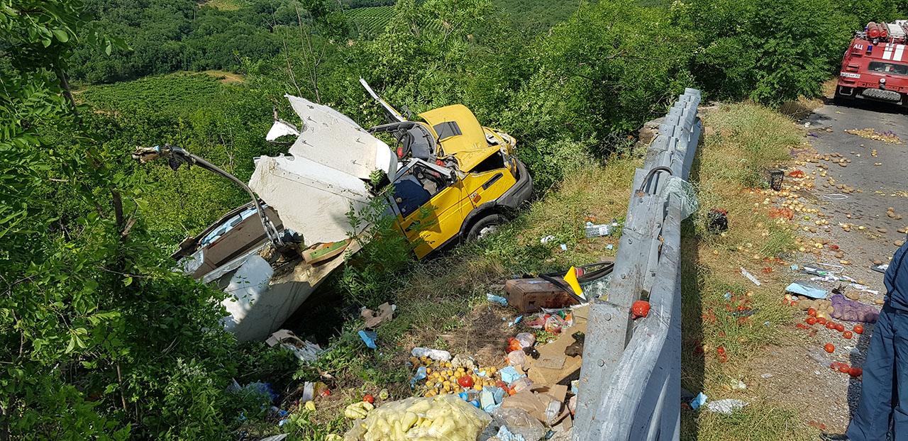 авария в Судаке