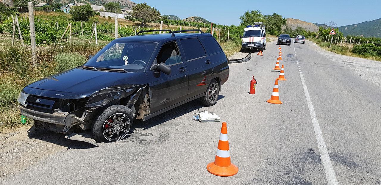 авария ВАЗ-2111