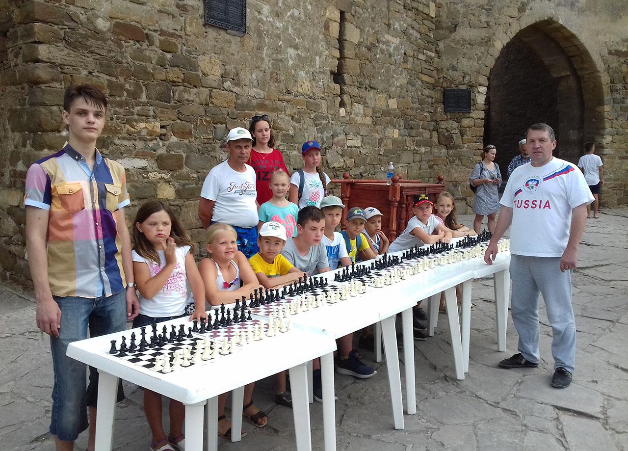 шахматы в крепости