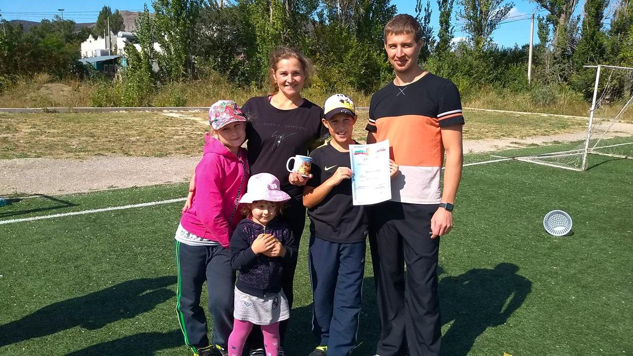 семья Топорковых