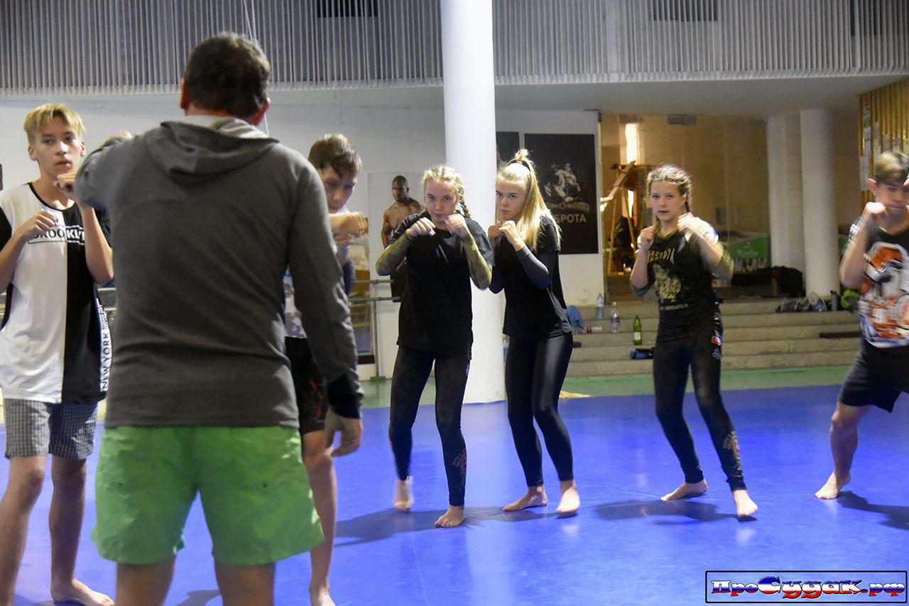 тренировка по боксу в Судаке