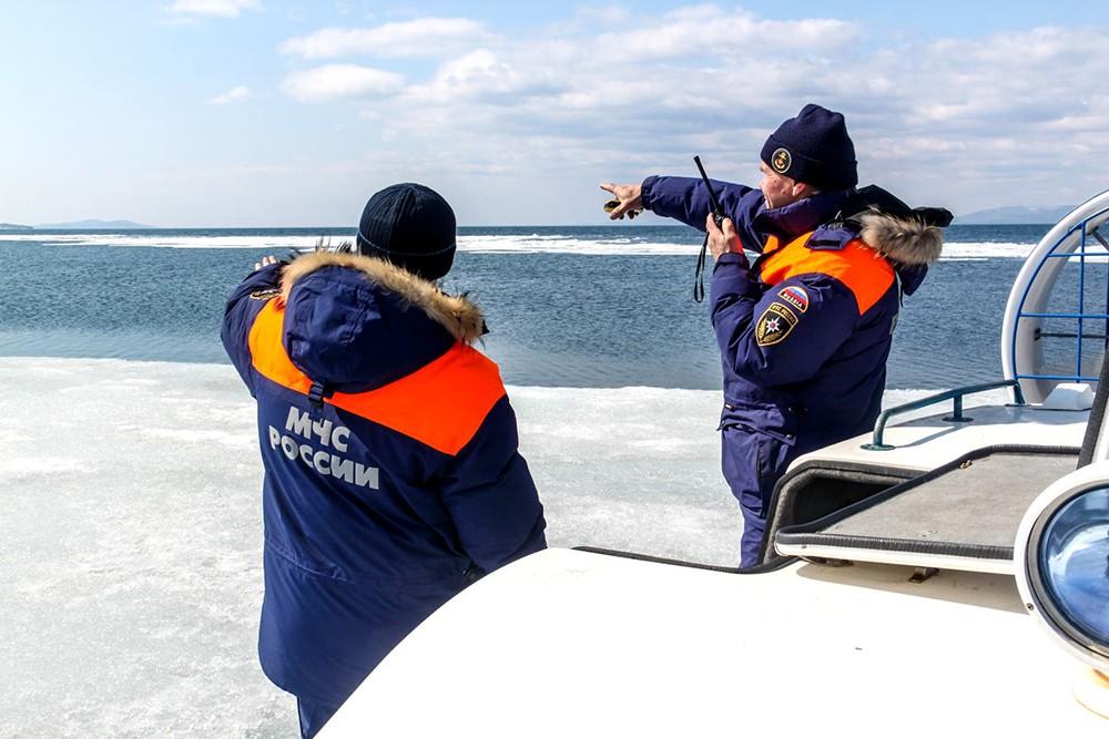 МЧС поиск на море