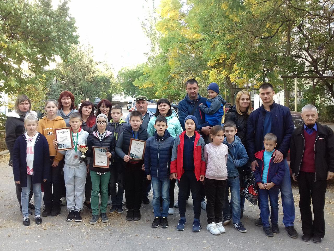 Судакские шахматисты в Феодосии