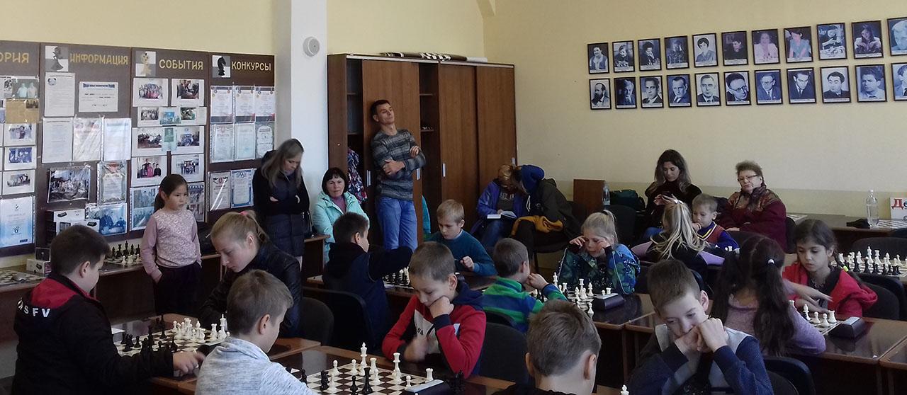 шахматная секция Судака