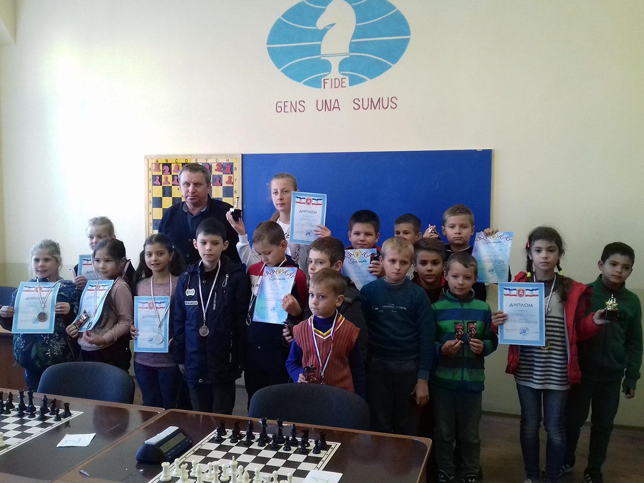 шахматисты Судака