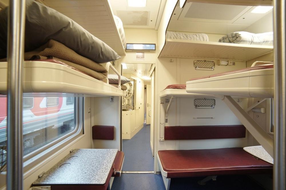 плацкарт поезда в Крым