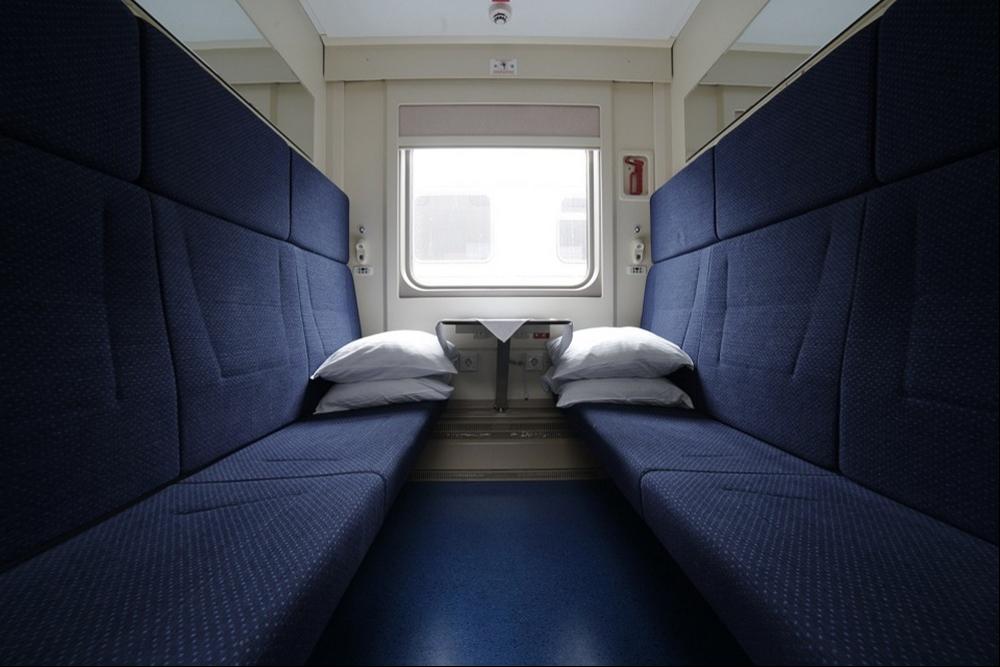 вагон поезда в Крым