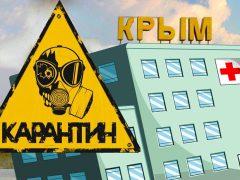 коронавирус в Крыму, карантин