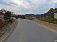 Дорога в Судак