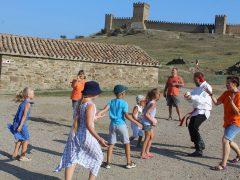 Мероприятие на Генуэзской крепости