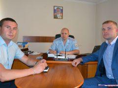 Илья Прокопьев в полиции