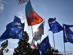 флаги Единой России